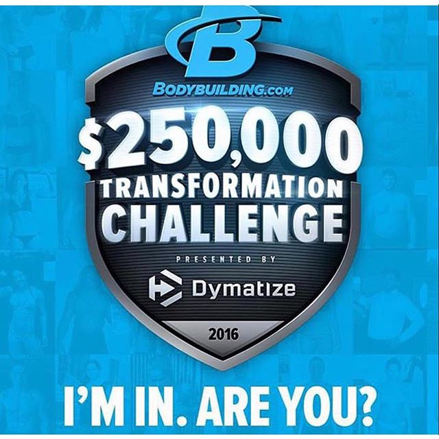 I'm in! Are you?? @bodybuildingcom @dymatize #250kchallenge #hardworkpaysoff #roadtofitness