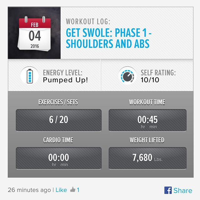 Week 4: Day 4 Workout Done!  #250kchallenge #bodybuildingcom #dymatize #bodybuilding #fitness #lifestyle #motivation #nopainnogain #workout #inspiration #longhardroad #oldman #roadtofitness #musclemotivation #bestself #workinprogress #hardworkpaysoff  #MuscleTech #comeonbalboa #gymlife #freeyourmindneo #trainharder #nevergiveup #onedayatatime #dontthinkaboutitdoit #fitforlife #fitmotivation #gohard #keepyourheadup #determination