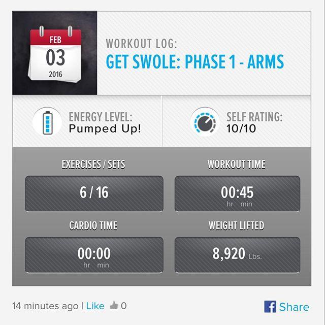 Week 4: Day 3 Workout Done!  #250kchallenge #bodybuildingcom #dymatize #bodybuilding #fitness #lifestyle #motivation #nopainnogain #workout #inspiration #longhardroad #oldman #roadtofitness #musclemotivation #bestself #workinprogress #hardworkpaysoff  #MuscleTech #comeonbalboa #gymlife #freeyourmindneo #trainharder #nevergiveup #onedayatatime #dontthinkaboutitdoit #fitforlife #fitmotivation #gohard #keepyourheadup #determination