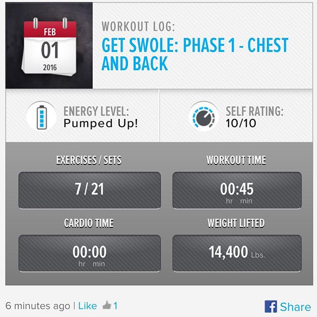 Week 4: Day 1 Workout Done!  #250kchallenge #bodybuildingcom #dymatize #bodybuilding #fitness #lifestyle #motivation #nopainnogain #workout #inspiration #longhardroad #oldman #roadtofitness #musclemotivation #bestself #workinprogress #hardworkpaysoff  #MuscleTech #comeonbalboa #gymlife #freeyourmindneo #trainharder #nevergiveup #onedayatatime #dontthinkaboutitdoit #fitforlife #fitmotivation #gohard #keepyourheadup #determination
