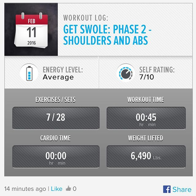 Week 5: Day 4 Workout Done! Today was rough, just didn't seem to have the strength today. But I powered thru and finished my workout!!! #250kchallenge #bodybuildingcom #dymatize #bodybuilding #fitness #lifestyle #motivation #nopainnogain #workout #inspiration #longhardroad #oldman #roadtofitness #musclemotivation #bestself #workinprogress #hardworkpaysoff  #MuscleTech #comeonbalboa #gymlife #freeyourmindneo #trainharder #nevergiveup #onedayatatime #dontthinkaboutitdoit #fitforlife #fitmotivation #gohard #keepyourheadup #determination