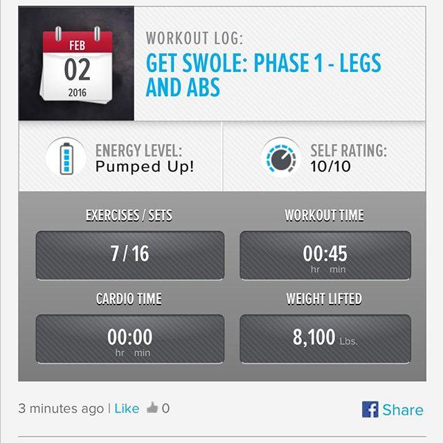 Week 4: Day 2 Workout Done!  #250kchallenge #bodybuildingcom #dymatize #bodybuilding #fitness #lifestyle #motivation #nopainnogain #workout #inspiration #longhardroad #oldman #roadtofitness #musclemotivation #bestself #workinprogress #hardworkpaysoff  #MuscleTech #comeonbalboa #gymlife #freeyourmindneo #trainharder #nevergiveup #onedayatatime #dontthinkaboutitdoit #fitforlife #fitmotivation #gohard #keepyourheadup #determination