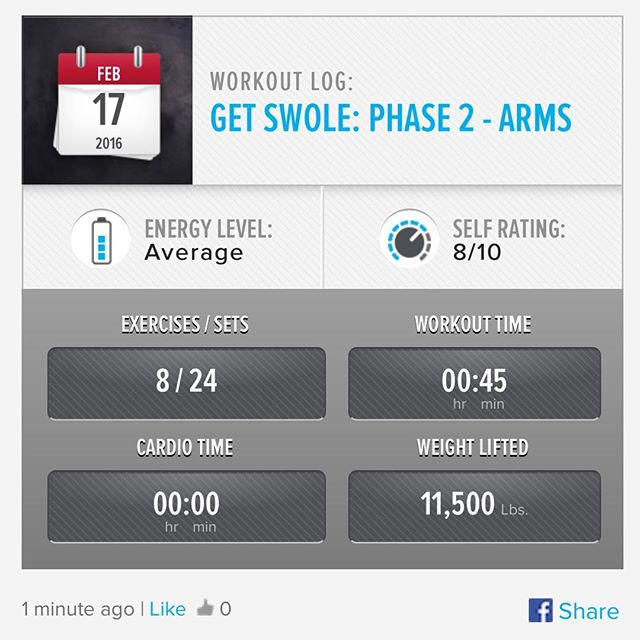 Week 6: Day 3 Workout Done!  #250kchallenge #bodybuildingcom #dymatize #bodybuilding #fitness #lifestyle #motivation #nopainnogain #workout #inspiration #longhardroad #oldman #roadtofitness #musclemotivation #bestself #workinprogress #hardworkpaysoff #MuscleTech #comeonbalboa #gymlife #freeyourmindneo #trainharder #nevergiveup #onedayatatime #dontthinkaboutitdoit #fitforlife #fitmotivation #gohard #keepyourheadup #determination