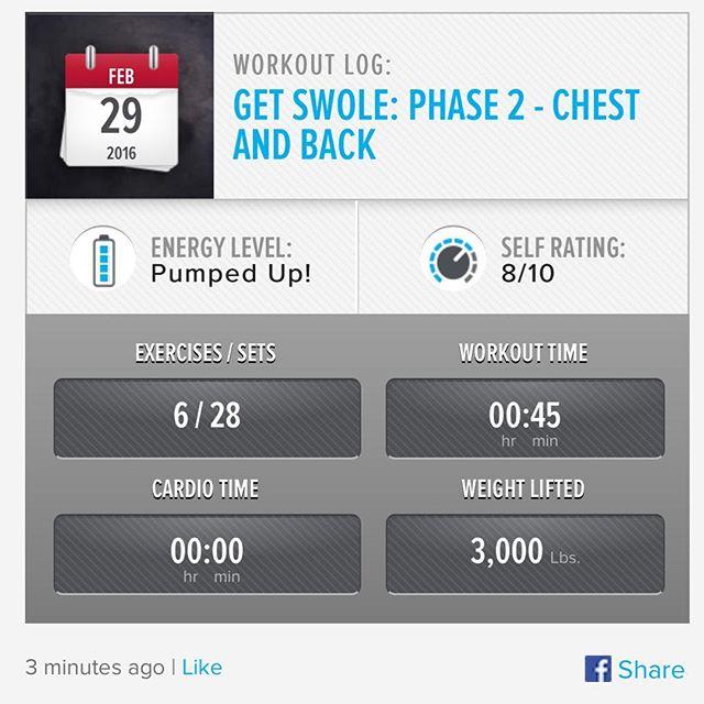 Week 8: Day 1 Workout Done!  #250kchallenge #bodybuildingcom #dymatize #bodybuilding #fitness #lifestyle #motivation #nopainnogain #workout #inspiration #longhardroad #oldman #roadtofitness #musclemotivation #bestself #workinprogress #hardworkpaysoff #MuscleTech #comeonbalboa #gymlife #freeyourmindneo #trainharder #nevergiveup #onedayatatime #dontthinkaboutitdoit #fitforlife #fitmotivation #gohard #keepyourheadup #determination