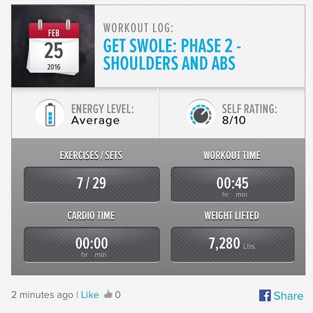 Week 7: Day 4 Workout Done!  #250kchallenge #bodybuildingcom #dymatize #bodybuilding #fitness #lifestyle #motivation #nopainnogain #workout #inspiration #longhardroad #oldman #roadtofitness #musclemotivation #bestself #workinprogress #hardworkpaysoff #MuscleTech #comeonbalboa #gymlife #freeyourmindneo #trainharder #nevergiveup #onedayatatime #dontthinkaboutitdoit #fitforlife #fitmotivation #gohard #keepyourheadup #determination