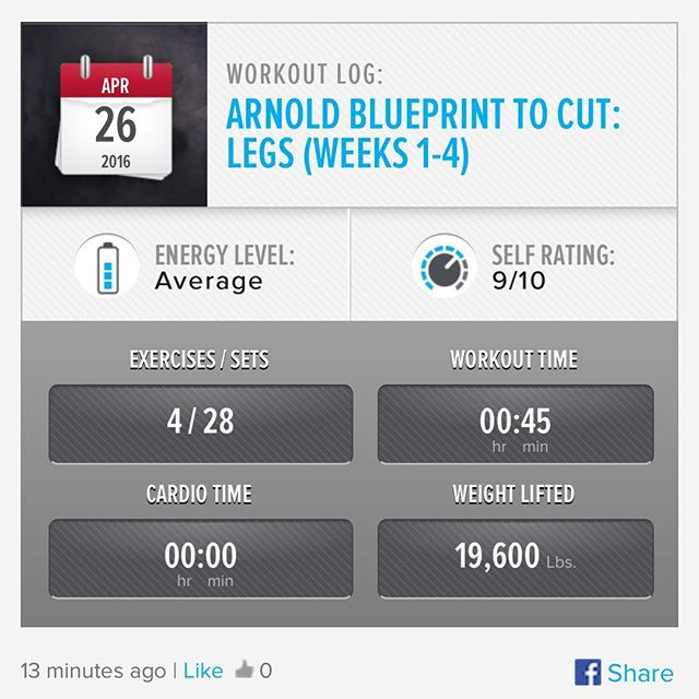 Leg Day Tuesday! Week 4 Day 2 Workout Done!