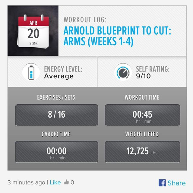 It's Hump Day and Arm Day! Week 3 Day 3 Workout Done!