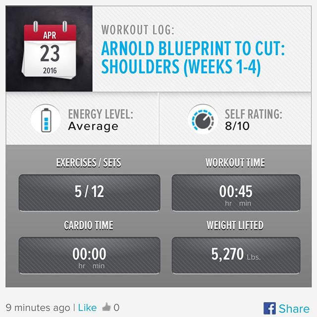 It's Shoulder Day Saturday! Week 3 Day 6 Workout Done!