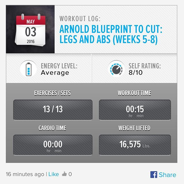 Legs & ABs Day 1: Week 5 Day 2 Workout Done!  AB workouts suck... But in the end result will be awesome!!!