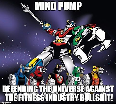 To the Voltron of the fitness industry, Congrats on 300 podcasts. Keep on rocking the knowledge. If you don't know who these guys are, you better find out. @mindpumpsal @mindpumpjustin @mindpumpdoug @mindpumpadam @mindpumpradio