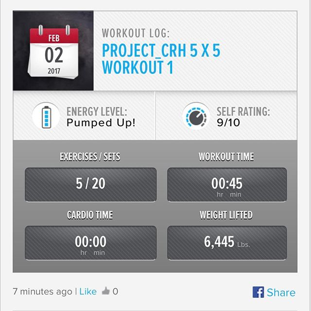 2nd workout of the week. #workinprogress