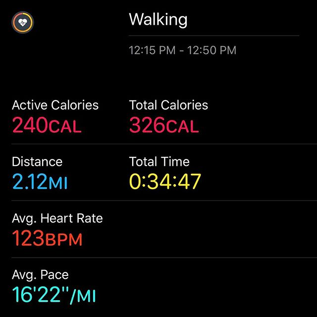 Lunchtime Walking!! Go farther, Go Faster.. #workinprogress