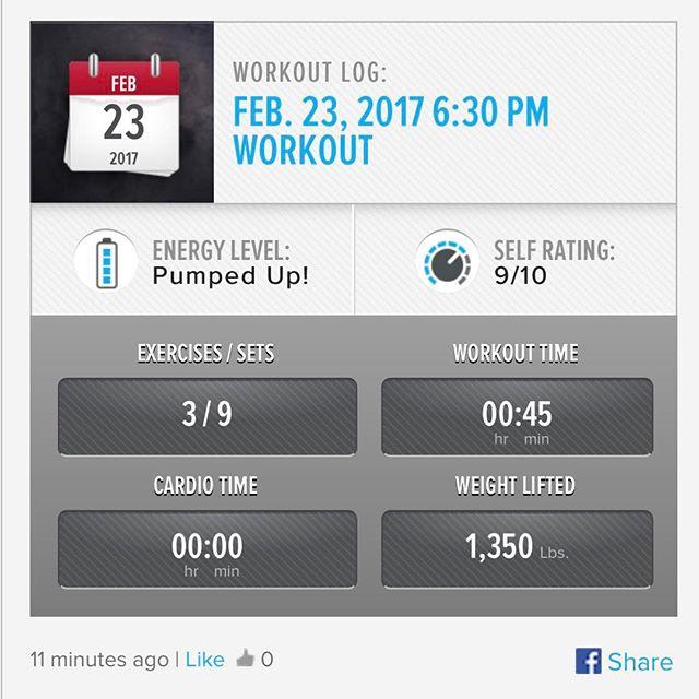 4th Workout of the Week. #workinprogress