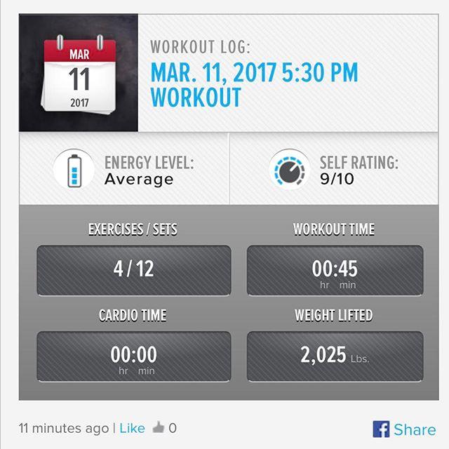 6th Workout of the Week. #workinprogress