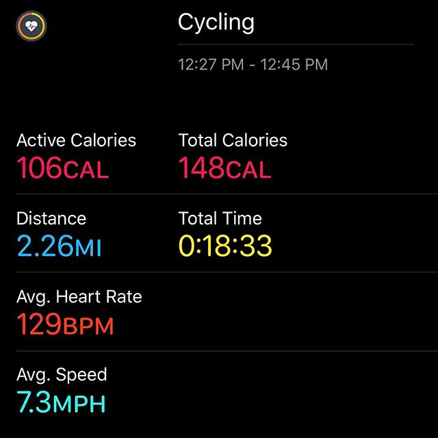 A little lunchtime bike riding.. Oh man are my legs on fire now!!! #workinprogress