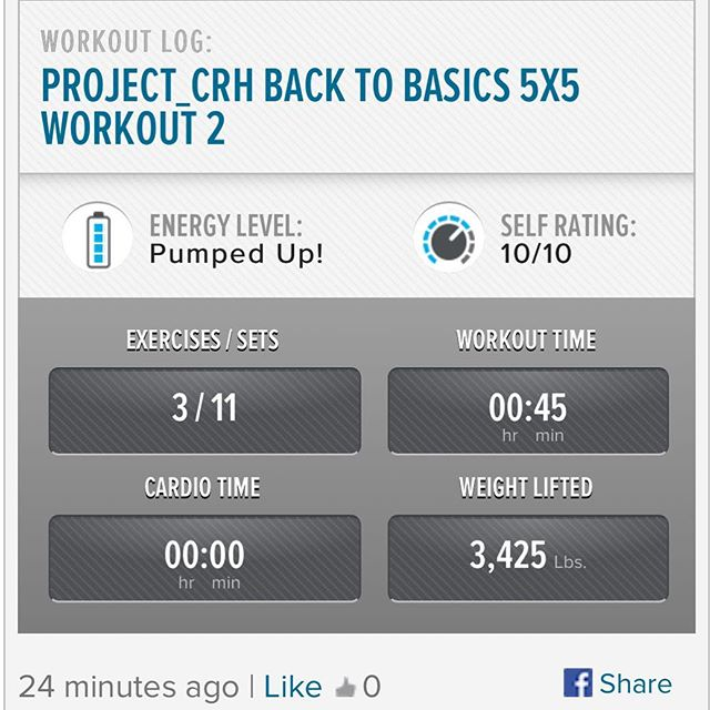 Trying spring forward out this DadBod I got myself into. 1st workout of the week. 