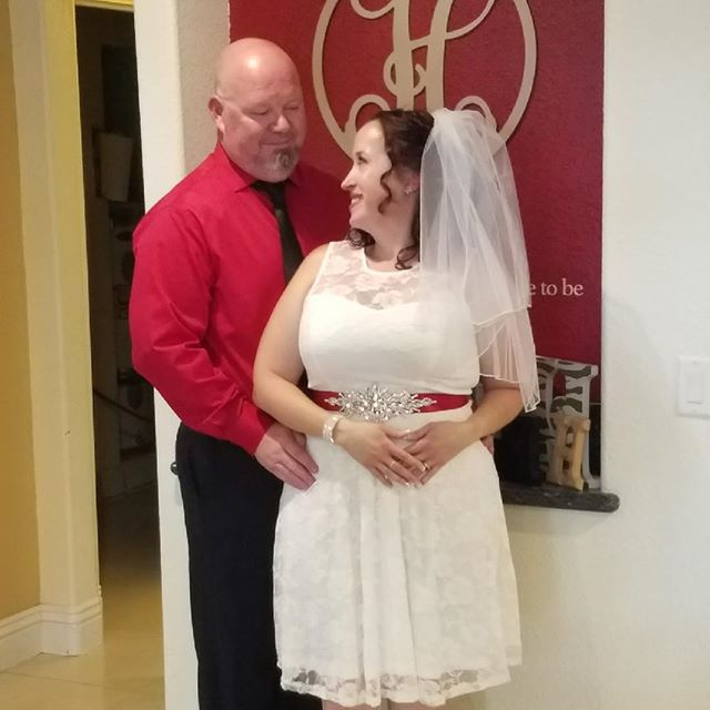 Not fitness related  On Friday June 1st my best friend and biggest cheerleader/Fan became my wife.  I present to you Mr & Mrs Carl Hannig