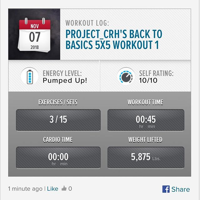 2nd workout of the week done!! #workinprogress  l