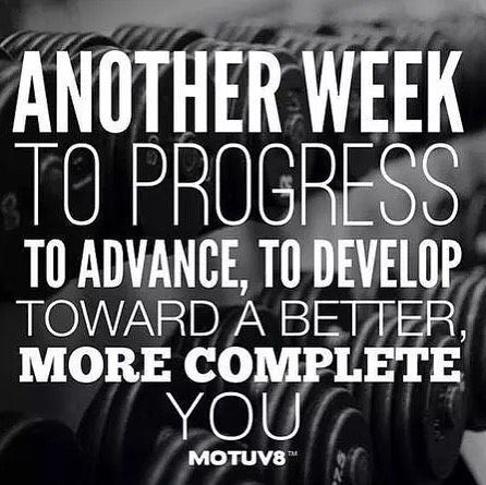 Day 08: Daily Motivation (Monday) It's Monday, the start of a new week. Make it count! Either start a new challenge, make new goals or continue on that grind to get your goals!  #workinprogress