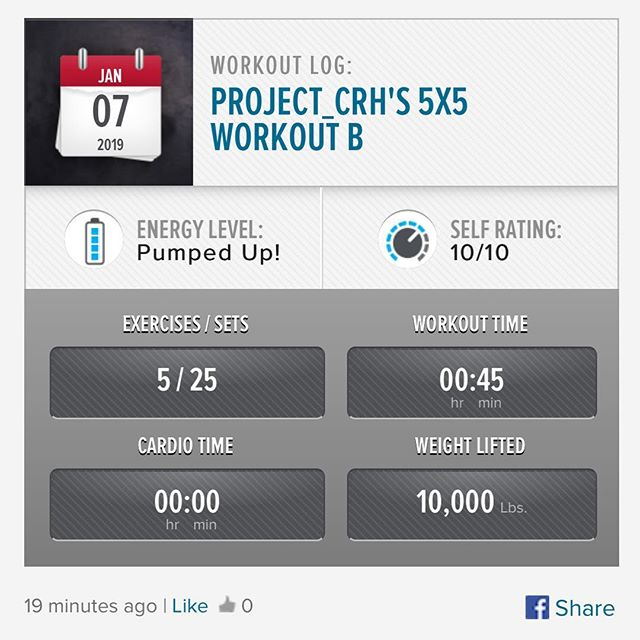 Monday workout is done!! let's get the week started!  #workinprogress l