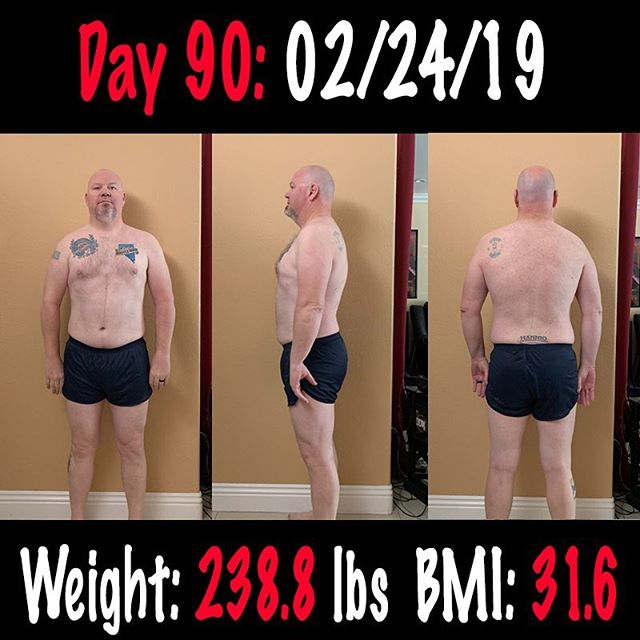 My 90 Day Challenge is done! I am very happy with my progress. Sure it could have been more, but I didn't stress my out over the course of the challenge, and I didn't try to kill my self in the gym either.  I did what I would say was about 95% Carnivore Diet for the 90 Days, I worked out and average of 3 times a week. I would say that is the most consistent I have strayed on track and continued working out as well.