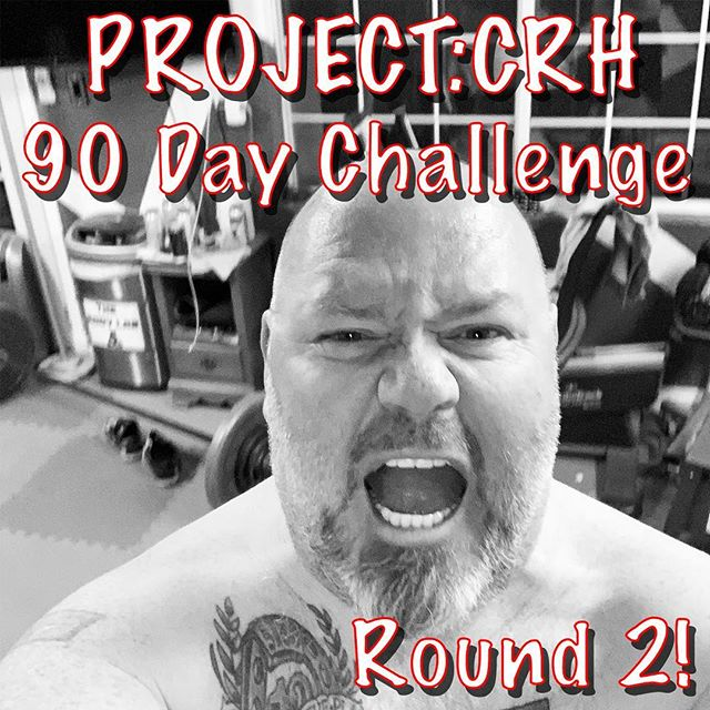 "Project_CRH ""90 Day Challenge"" Round 2 STARTS NOW!!!!!! Mar 11th to Jun 09th * Try and stick to the Carnivore Diet as much as possible * No Soda * No Candy or sweets * Running thru the full MAPS Anabolic (RED) Workout program  1st 3 Weeks I'll be doing the MAPS Anabolic (RED) Workout Pre-Phase that looks like this: