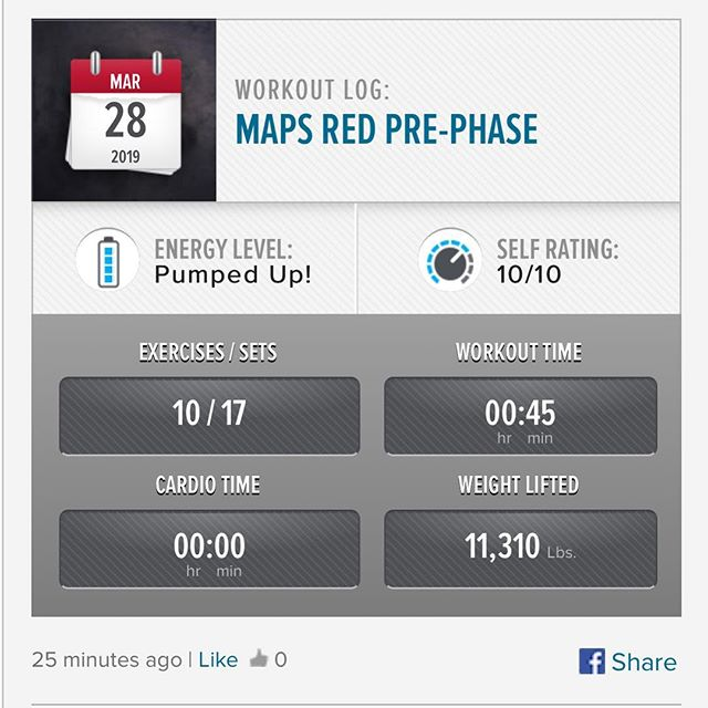 MAPS RED Pre-Phase is done!! Looking forward to starting Phase 1 next week!  #workinprogress